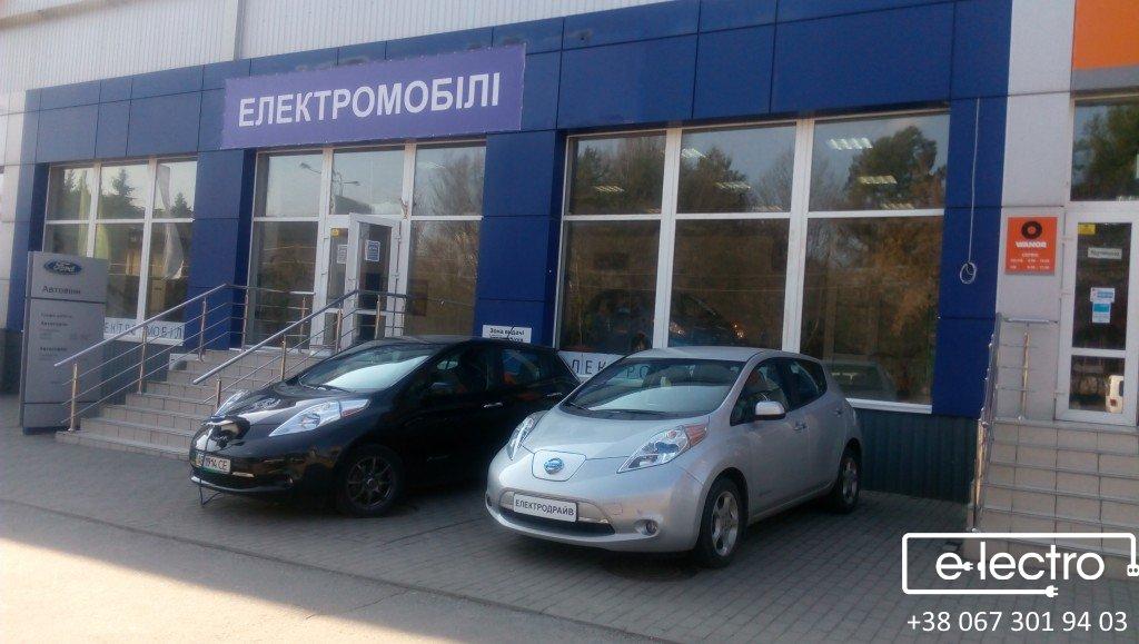 Перший салон Електромобілів у Вінниці ЕлектроДрайв надає послугу оренди електромобілів