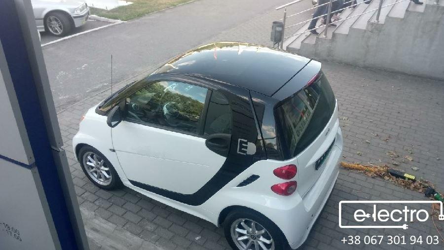 А чи дійсно настільки маленький SMART fortwo electric drive, як здається на перший погляд?!
