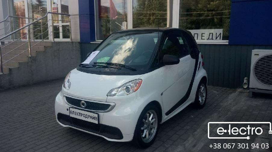 Smart fortwo electric drive – маленьке диво з потужними можливостями.