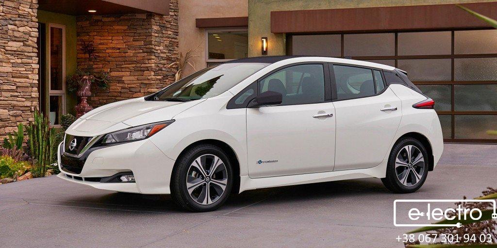 Новий Nissan Leaf 2018!