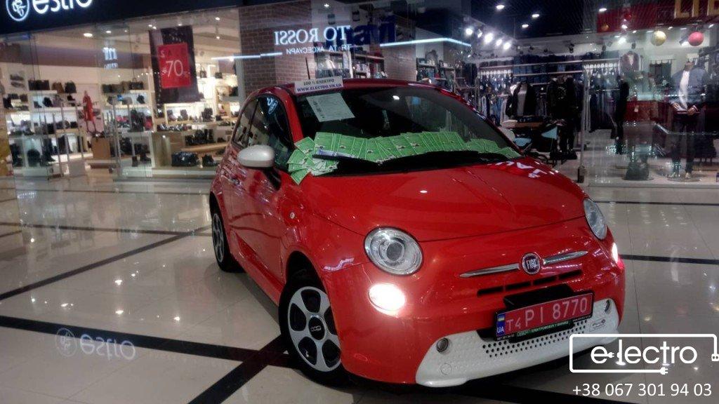 Огляд електромобіля Fiat 500e