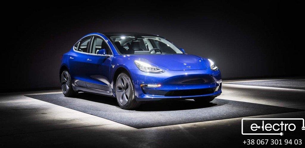 Tesla Model 3. Перша в Україні! Перша в Європі!